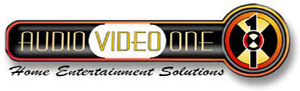 Audio Video One | Chapel Hill NC | Your Custom Audio Video Solution Provider. 919-338-0921 Logo